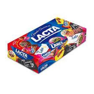 Caixa de bombons variedades Lacta 400g.