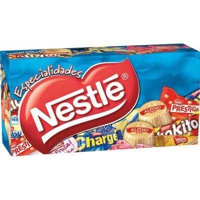 Caixa de bombons especialidades Nestle 300g.