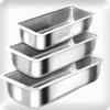 Assadeira de pão de aluminio N2