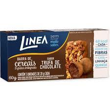 Barra de cereal Linea zero açúcar trufa de chocolate  (3x25gr)