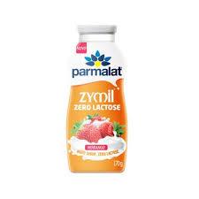 Bebida láctea zero lactose sabor morango Zymil 170g
