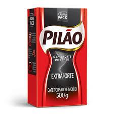 Café extra forte a vácuo Pilão 500g