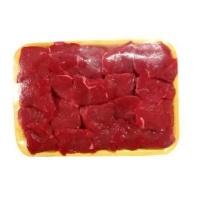 Contra filé bovino em pedaços para strogonoff 500g.