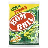 Esponja multiuso Bombril (4unid.)