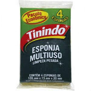 Esponja multiuso Tinindo 4x1