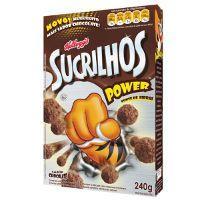 Sucrilhos Power chocolate 240g.