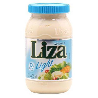 Maionese light Liza 500g.