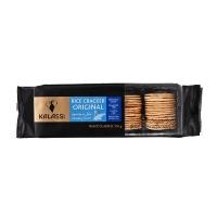 Biscoito salgado de arroz cracker orignial Tailandês Kalassi 100g