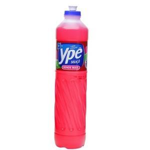 Detergente liquido maçã  Ypê 500ml.