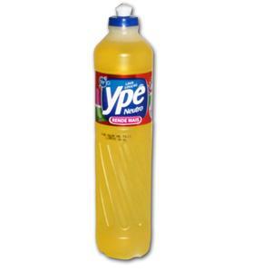 Detergente liquido neutro Ypê 500ml.