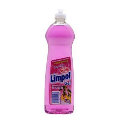 Lava louças gel Limpol Ylang Ylang 511g.