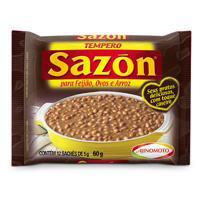 Tempero em pó feijão / ovos / arroz Sazón 60g.