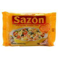 Tempero em pó massas / batatas / arroz Sazón 60g.