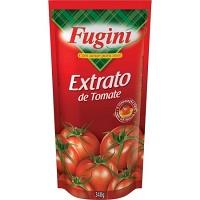 Molho de tomate tradicional Fugini sachê 300g.