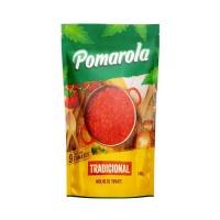 Molho de tomate tradicional Pomarola sachê 320g.