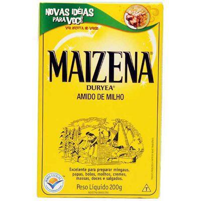 Amido de milho Maizena 200g.