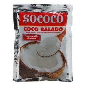 Coco ralado tradicional Sococo 100g.