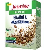 Granola orgânica com castanha do Pará Jasmine 200g
