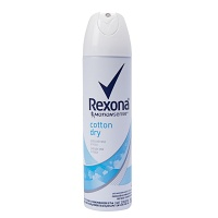 Desodorante aerosol Rexona women cotton dry 150ml