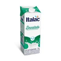 Leite desnatado Italac 1lt.