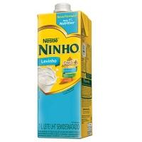Leite semi desnatado Ninho Levinho Nestlé 1lt.