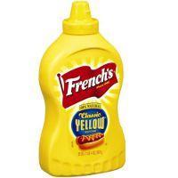 Mostarda Yellow classic Frenchs 226g.