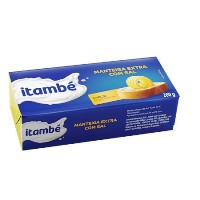 Manteiga com sal Itambé tablete 200g.