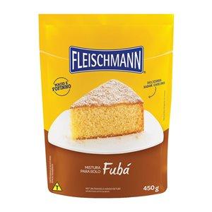 Mistura para bolo de fubá Fleischmann 450g.