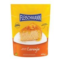 Mistura para bolo de laranja Fleischmann 450g.