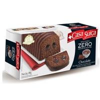 Bolo zero adição açucar chocolate Casa Suiça 280g.