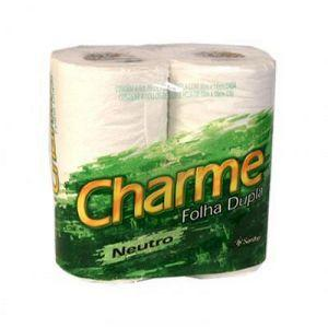 Papel Higienico folha dupla Charme 4 rolos