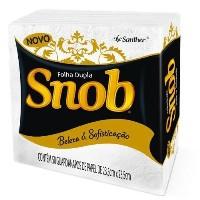 Guardanapo de papel Snob gala folha dupla pequeno 23,5 x 23,5 cm