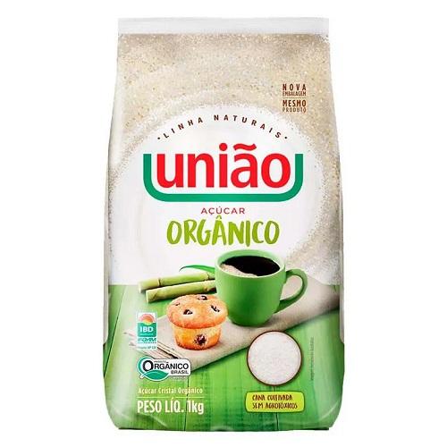 Açucar orgânico União 1kg.