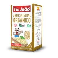 Arroz integral orgânico Tio João 1kg.