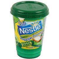 Requeijão cremoso light Nestlé 220g.