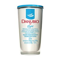 Requeijão Danubio light 250g.