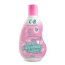 Lava calcinha e biquinis  c/ aloe vera  C&B 300ml