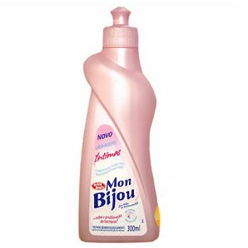 Lava roupas íntimas líquido Mon Bijou 300ml.