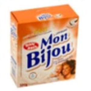 Sabão em pó Mon Bijou de coco 500g.