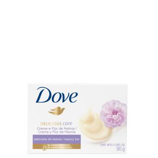Sabonete Dove creme de flor Peônia 90g