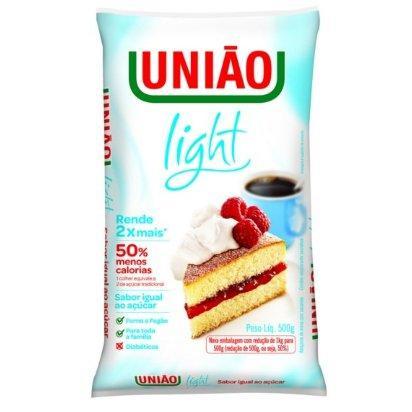 Adoçante light União 500g.