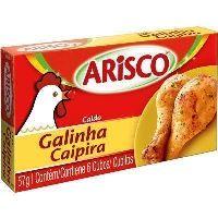 Caldo de galinha caipira Arisco 57g.
