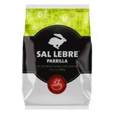 Sal granulado Parrila Lebre 250g.