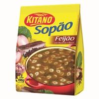 Sopão de feijão Kitano 196g.