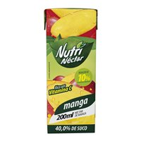 Suco pronto de manga Nutri Néctar 200ml.