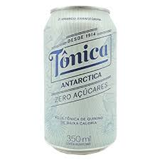 Água Tônica sem açúcares lata Antartica 350ml