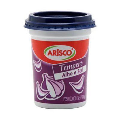 Tempero alho e sal Arisco 300g