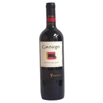 Vinho tinto seco Gato Negro Cabernet Sauvignon