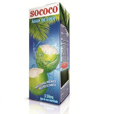 Água de coco Sococo 1lt
