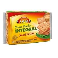 Biscoito cream cracker sem lactose Liane 400g